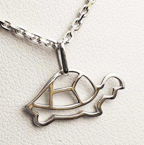 Zlatý přívěšek želvička 067754  - 2