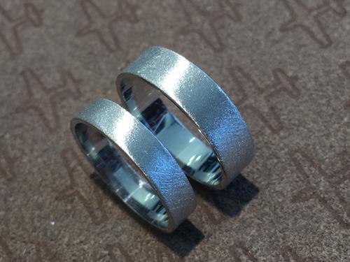 Zlaté snubní prsteny S40  - 2