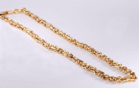 Zlatý náhrdelník 9.7  - 2