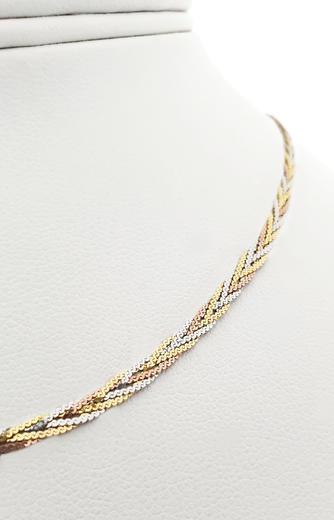 Zlatý náhrdelník 04373  - 2