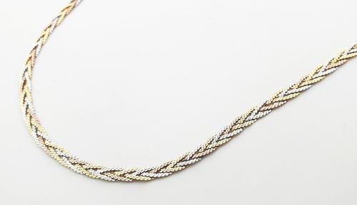 Zlatý náhrdelník 04373  - 3