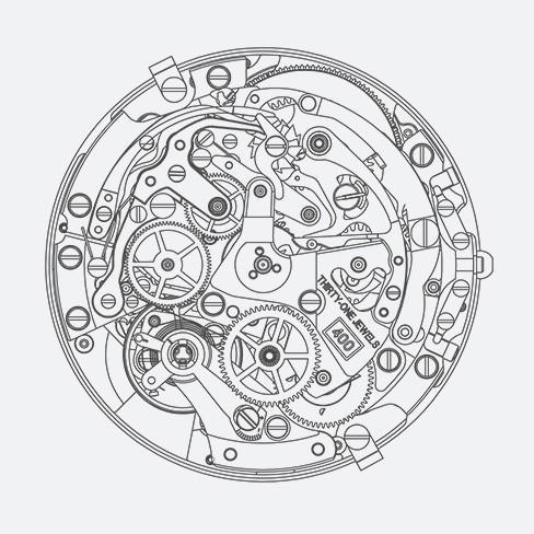 ZENITH CAPTAIN CHRONOGRAPH 03.2110.400/22.C493  - 3