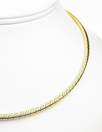 Zlatý náhrdelník 045899  - 3