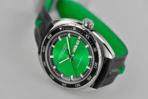 HAMILTON PAN EUROPE green H35415761  - 3