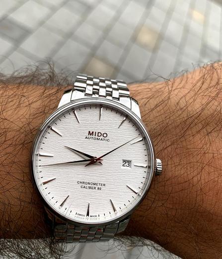 MIDO Baroncelli Chronometr M027.408.11.031.00  - 3