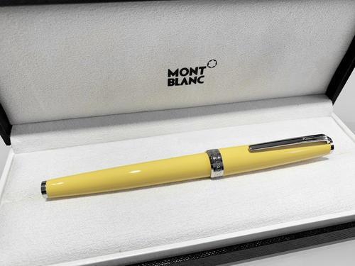 MONTBLANC PIX Mustard Yellow 125239 Rollerball  - 3