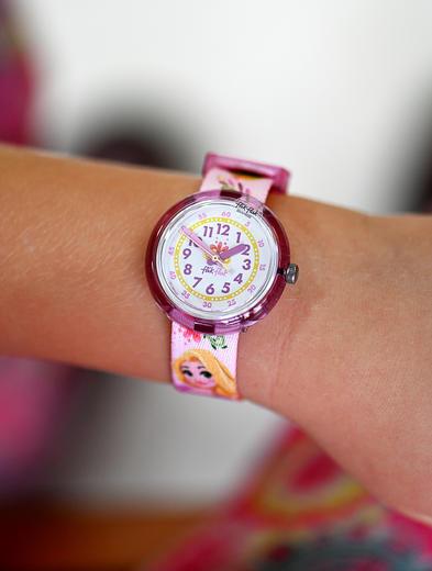 Flik Flak hodinky ZFLNP028 DISNEY RAPUNZEL  - 3