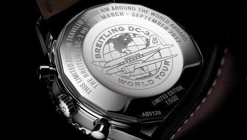 BREITLING NAVITIMER DC-3 Circles the Globe AB0129A/BD09  - 3