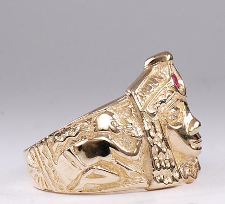 Zlatý prsten Kleopatra P834  - 3
