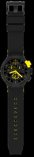 SWATCH hodinky SB02B403 BIG BOLD CHECKPOINT YELLOW  - 3