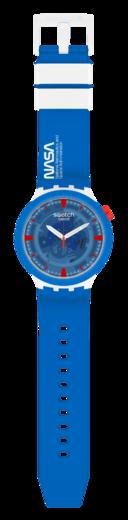 SWATCH hodinky SB04Z400 JUMPSUIT NASA  - 3