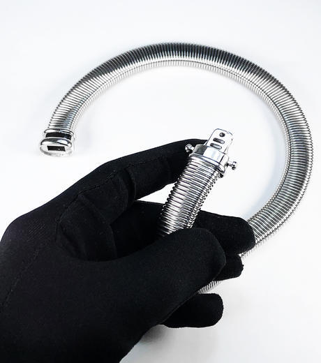Stříbrná souprava Obojek náhrdelník a náramek 22072021  - 3