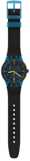 SWATCH hodinky SUSS402 BLUE TIRE  - 3