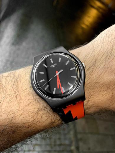 SWATCH hodinky SUOB167 SHEYENNE  - 3