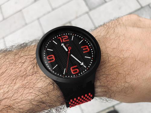 SWATCH hodinky SO27B102 BBBLOOD BIG BOLD  - 3