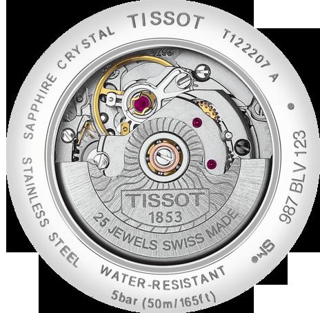 TISSOT CARSON AUTOMATIC T122.207.11.036.00  - 3