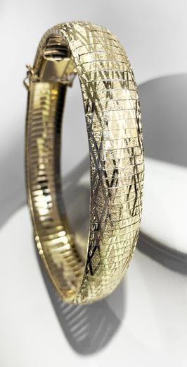 Zlatý náramek 07872  - 3