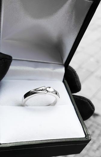 Zlatý prsten s diamantem PD381  - 4