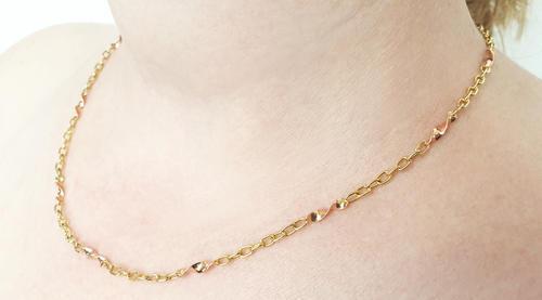 Zlatý náhrdelník 9.23  - 4