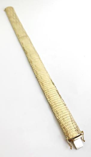 Zlatý náramek 07872  - 4