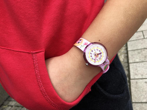 Flik Flak hodinky ZFLNP028 DISNEY RAPUNZEL  - 4