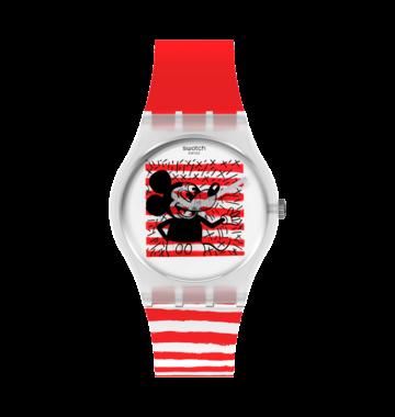 Swatch hodinky MOUSE MARINIÈRE GZ352  - 4