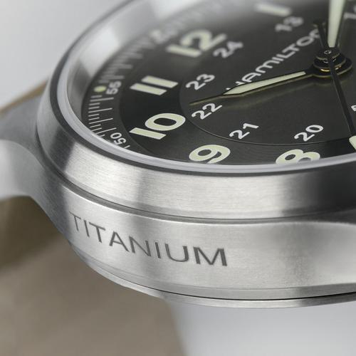 Hamilton Khaki Field Titanium Auto H70545550  - 4