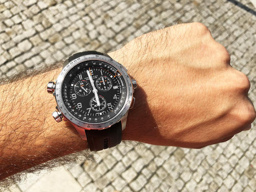 HAMILTON Khaki aviation X-Wind GMT Chrono H77912335  - 4