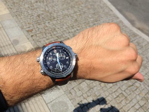 HAMILTON KHAKI Aviation X WIND GMT Chrono H77912535  - 4