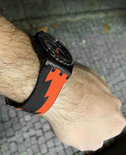 SWATCH hodinky SUOB167 SHEYENNE  - 4