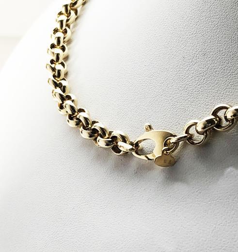 Zlatý náhrdelník 020849  - 4