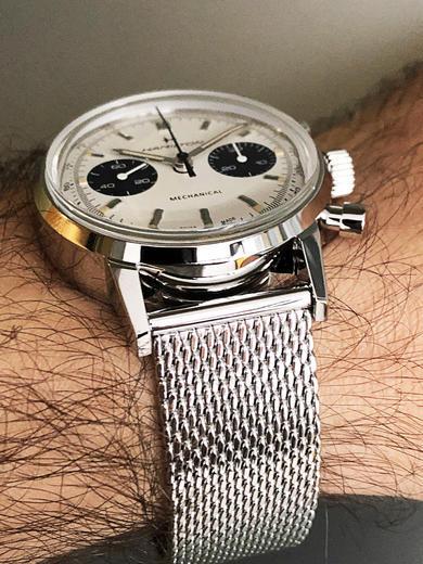 HAMILTON American Classic Intra-Matic Chronograph H H38429110  - 4