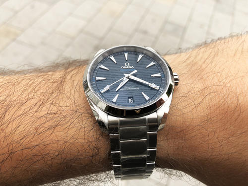 OMEGA Aqua Terra Master Chronometer 41 mm 220.10.41.21.03.001  - 4