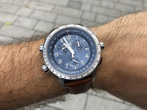 HAMILTON Khaki Aviation X-Wind GMT Chrono H77922541  - 4