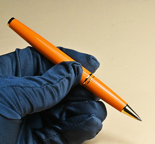 MONTBLANC PIX Orange Roller 119902  - 4