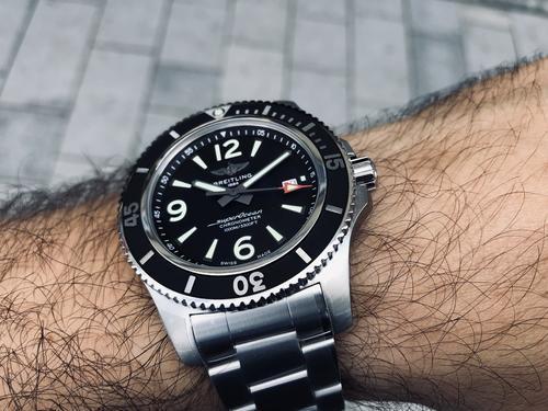 BREITLING SUPEROCEAN II 44 black A17367D71B1A1  - 4