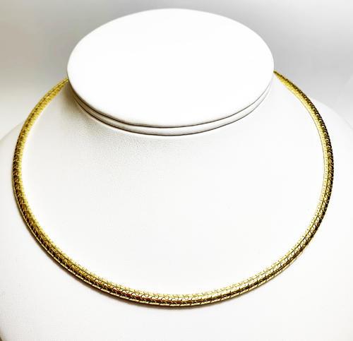 Zlatý náhrdelník 045899  - 4