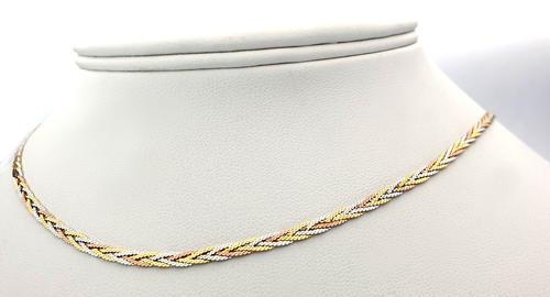 Zlatý náhrdelník 04373  - 4