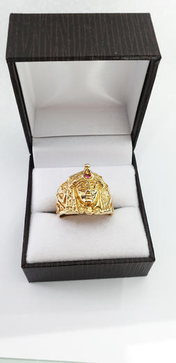 Zlatý prsten Kleopatra 015234  - 4