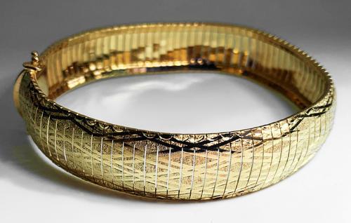 Zlatý náramek 07872  - 5