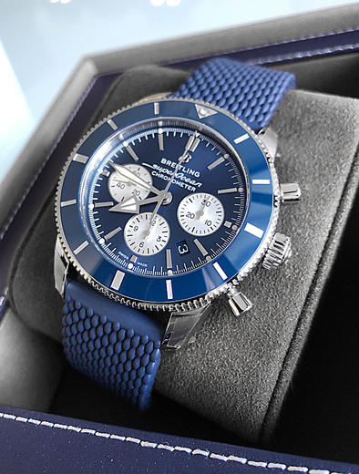 BREITLING SUPEROCEAN HERITAGE II B01 Chronograph 44 AB0162161C1A1  - 5