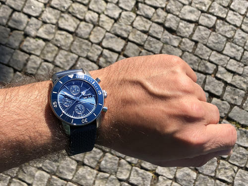 BREITLING SUPEROCEAN HERITAGE II Chronograph 44 A13313161C1A1  - 5