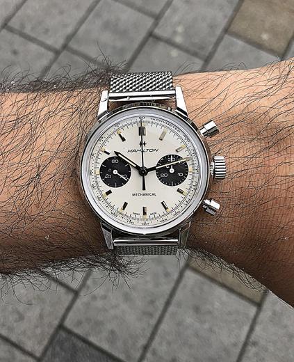 HAMILTON American Classic Intra-Matic Chronograph H H38429110  - 5