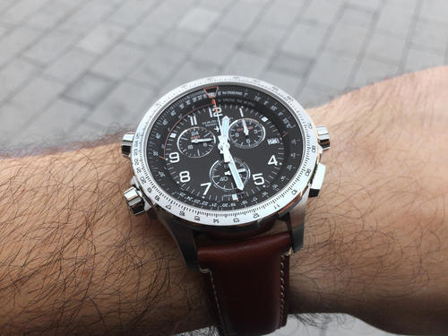 HAMILTON KHAKI Aviation X WIND GMT Chrono H77912535  - 5