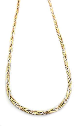 Zlatý náhrdelník 04373  - 5