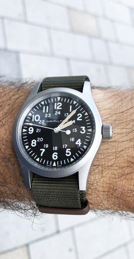 HAMILTON KHAKI FIELD mechanical H69439931  - 5