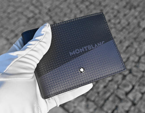 MONTBLANC Etreme 2.0 peněženka 6cc black and blue 128613  - 5