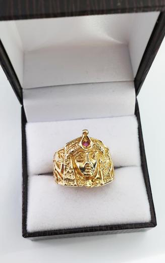 Zlatý prsten Kleopatra 015234  - 5