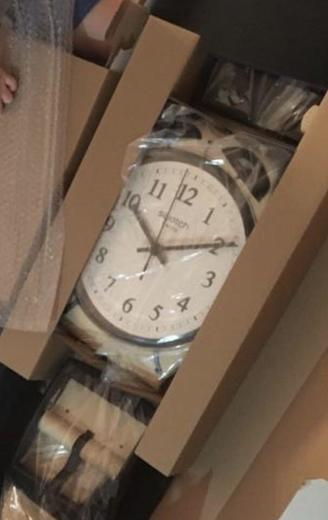 SWATCH nástěnné hodiny MGT105 MAXI SVEGLIA  - 6