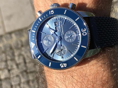 BREITLING SUPEROCEAN HERITAGE II Chronograph 44 A13313161C1A1  - 6